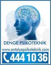 Antalya Psikoteknik